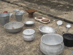Tools bought from Agbogbloshie for the experiment