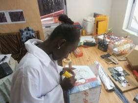 Making paper spectroscope