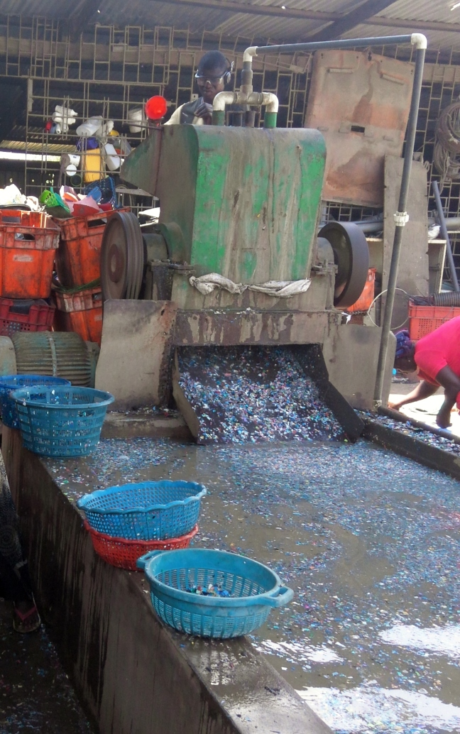 Grinding machine in Agbogbloshie