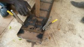 2d truss jig side view