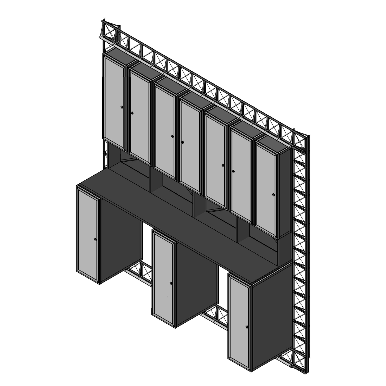 Infill Panel Wall Iso